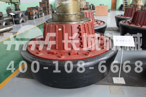 图长城机械生产的立磨机磨辊-立磨磨辊辊套大概多钱图片