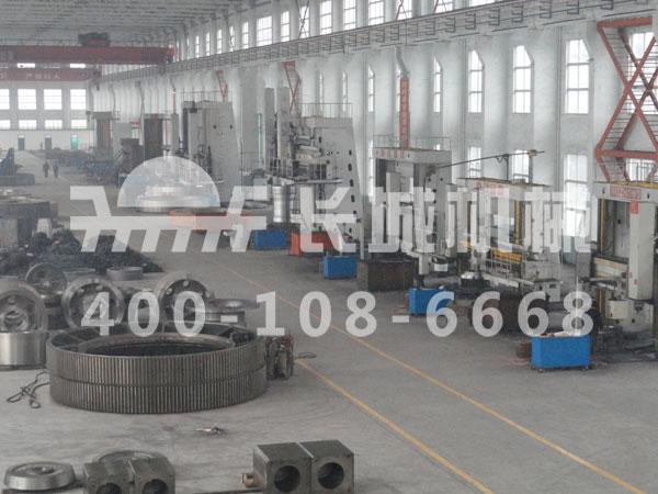 长城机械立磨机配件生产加工基地